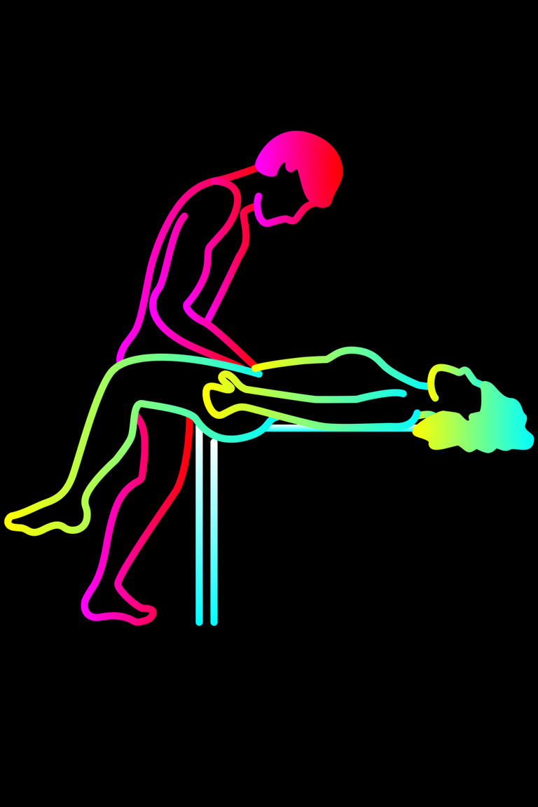 Ebony sexual positions