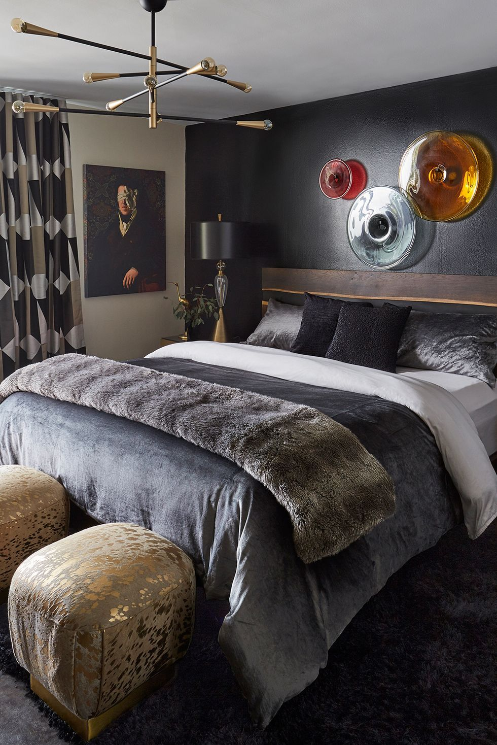 12 Gorgeous Dark Bedrooms - Bedrooms with Dark Color Palettes