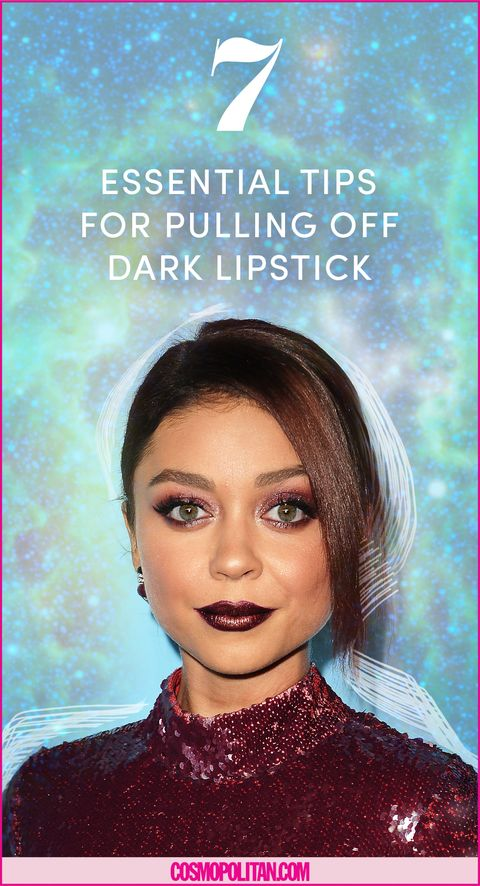 How To Wear Dark Lipstick 7 Absolutely Essential Tips For Pulling