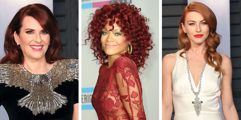 13 Dark Red Hair Colors - Dark Hair Colors for Redheads
