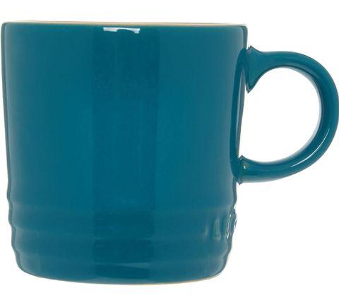 Dark Teal Espresso Mug 9cm, Le Creuset