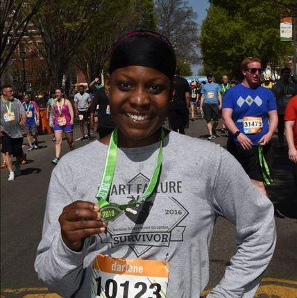 marathon training heart failure