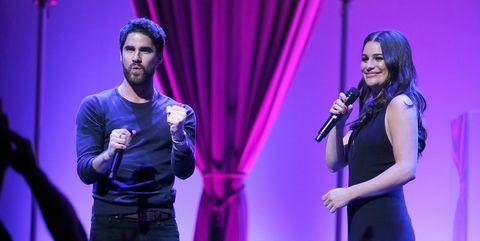 Lea Michele & Darren Criss In Concert - Newark, New Jersey