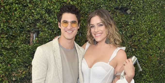 Darren Criss Just Married His Longtime Girlfriend Mia Swier in an All-Whte Tux