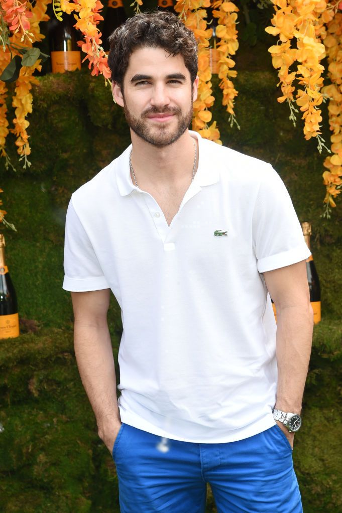 Darren Criss at the Veuve Clicquot Polo.