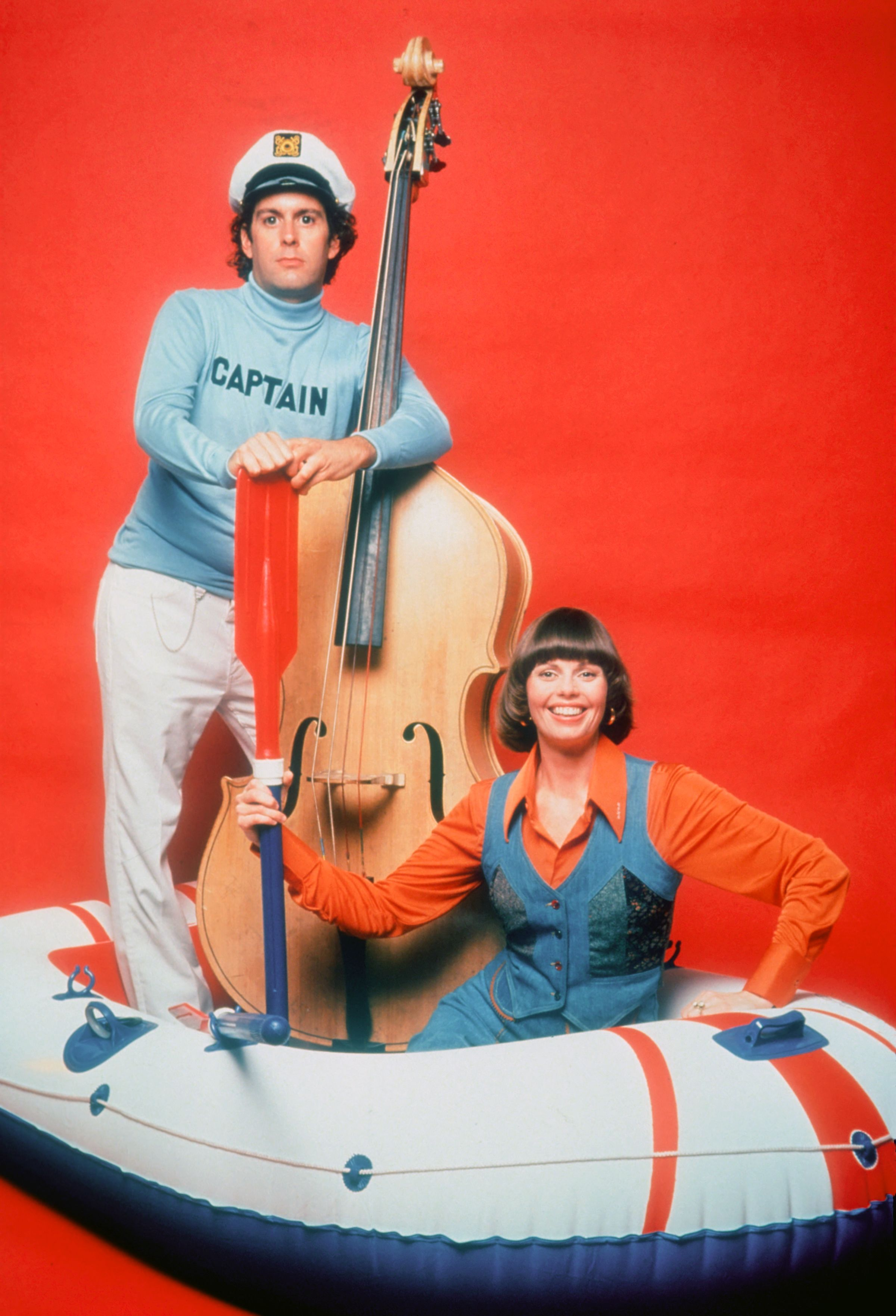 Captain & Tennille In A Dinghy