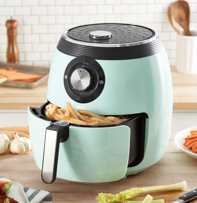 Dash's Deluxe Electric Air Fryer Is on Sale for Its Lowest Price to Date