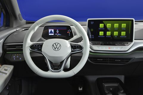 id4 is volkswagen's first entry as a purpose built electric car