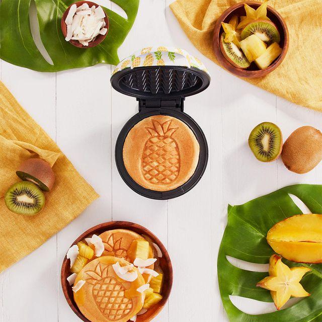 dash mini pineapple waffle maker