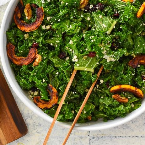 the ultimate autumn salad  orange maple vinaigrette