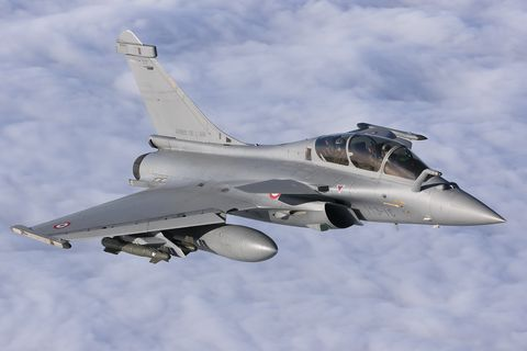 Dassault Rafale B of the French Air Force.