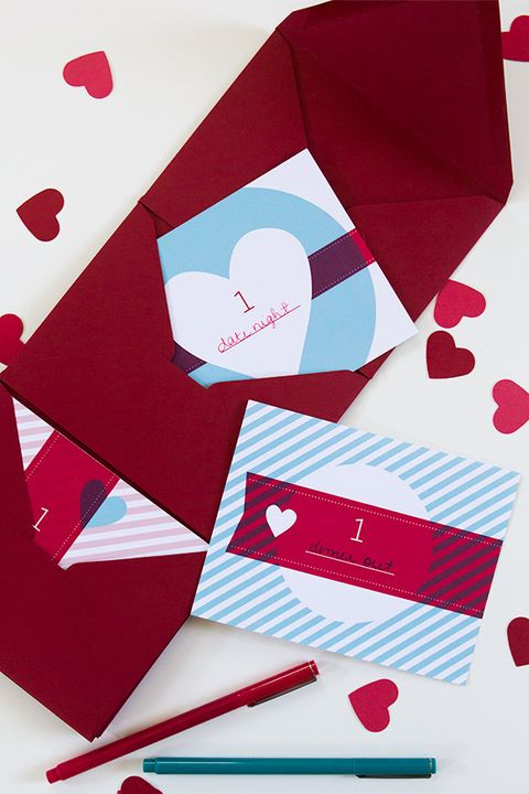 date night coupons diy valentines day cards