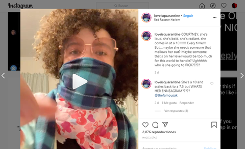 dating coronavirus love is quarantine Instagram