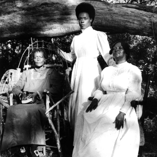 """circa 1991  a scene on set of the movie """"daughters of the dust"""" , circa 1991 photo by michael ochs archivesgetty images"""