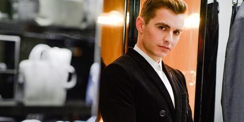 White-collar worker, Suit, Formal wear, Businessperson, Tuxedo, Smile,