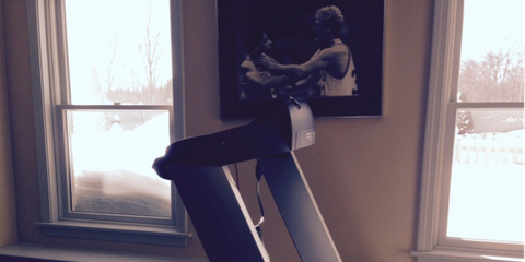 Dave McGillivray's Home Treadmill
