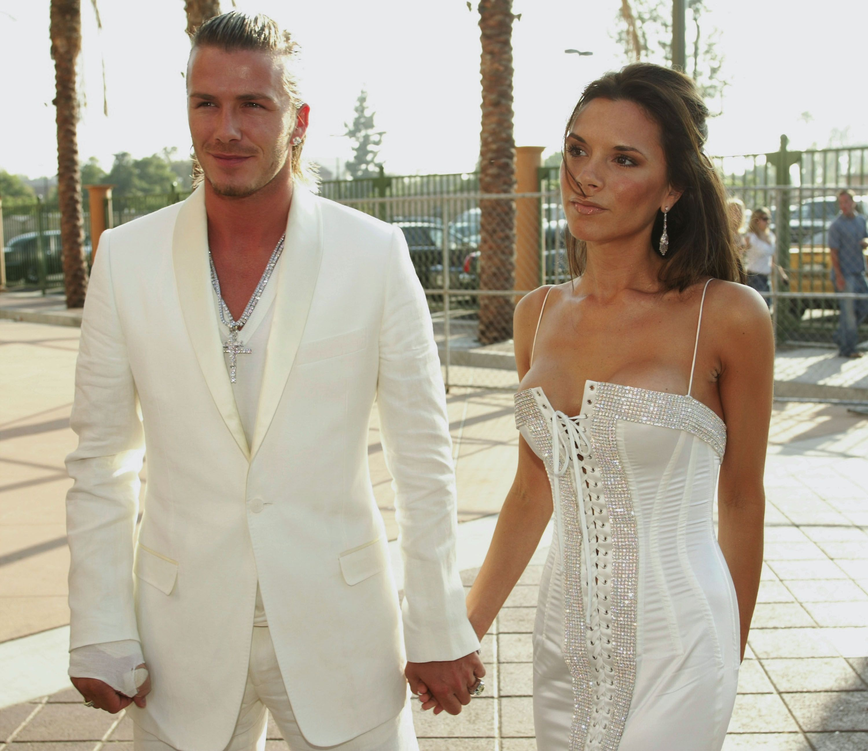 David & Victoria Beckham Celebrate 21st Wedding Anniversary
