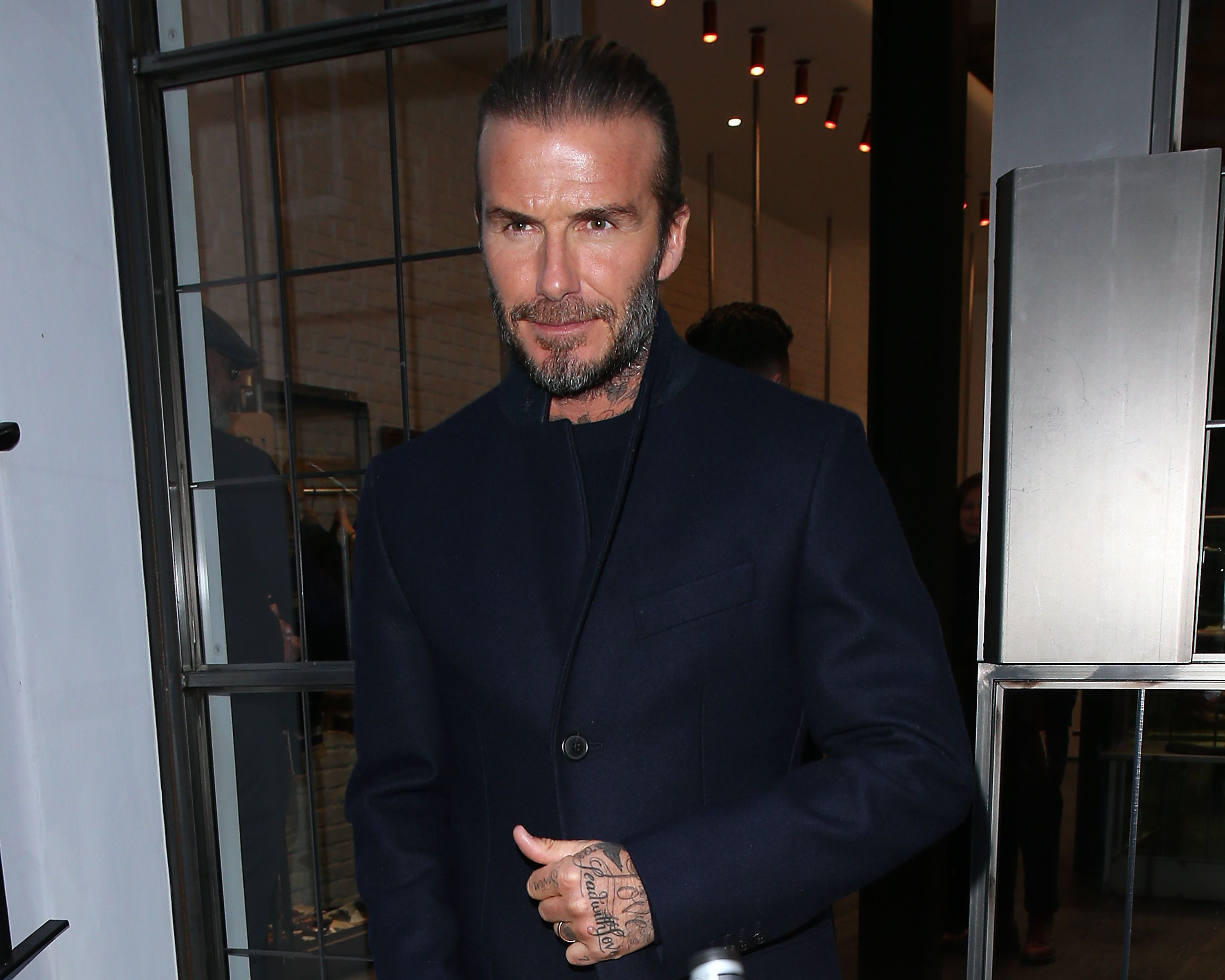 a8dc0dc2c5 David Beckham Says He Was Ahead Of His Time When He Wore That Sarong
