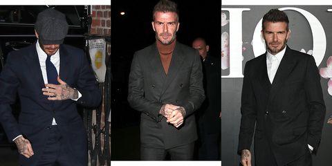 David Beckham Wore Three Perfect Winter Looks In One Week