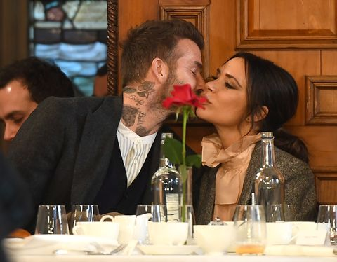 David Beckham Kissed V... David Beckham Divorce Rumors