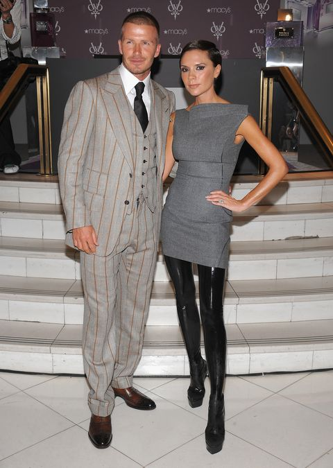 David and Victoria Beckham Launch Their New Beckham Signature Fragrance Collection at Macy's - Inside