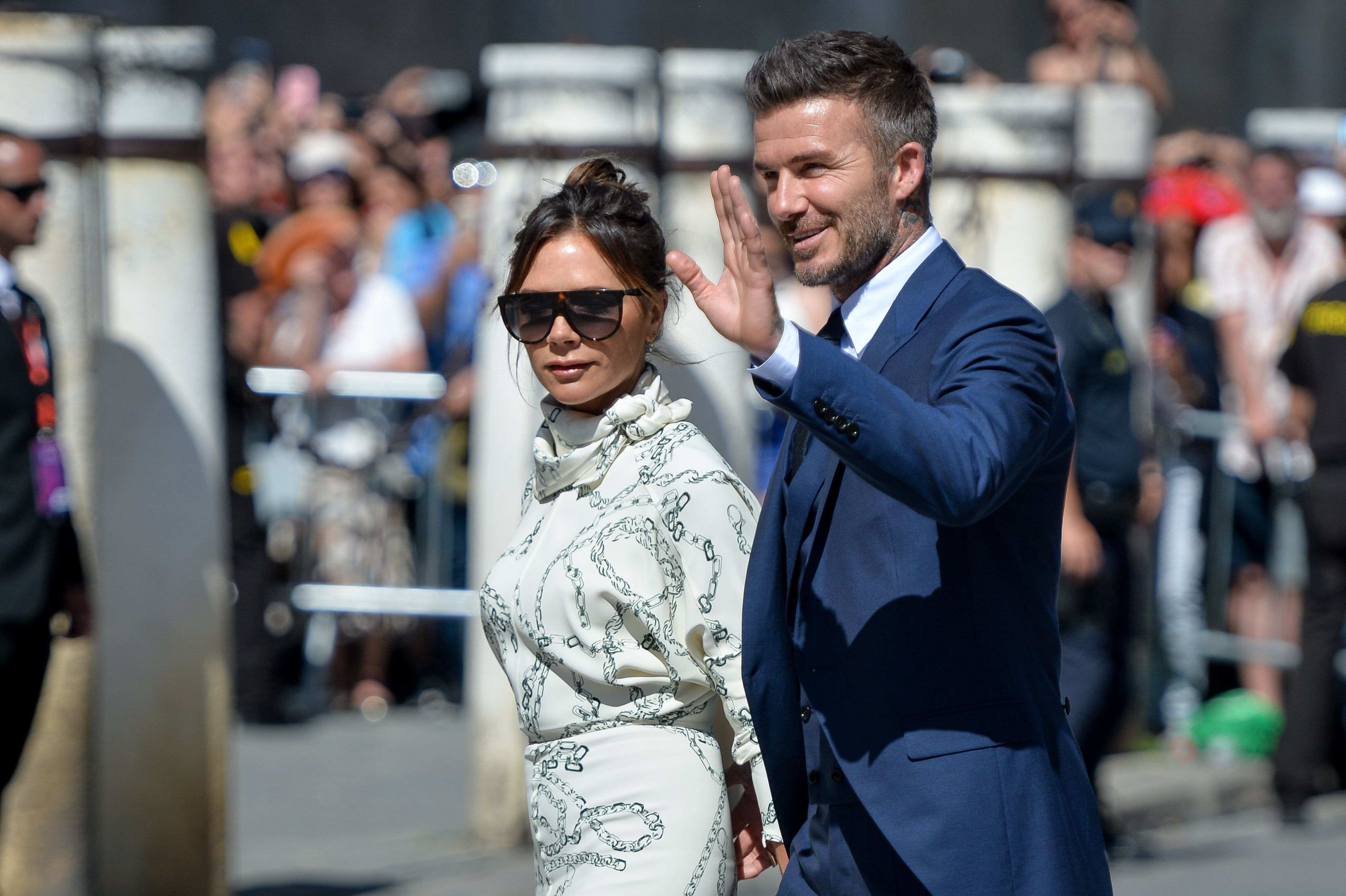 Victoria Beckham channels the Duchess of Sussex for Spanish wedding