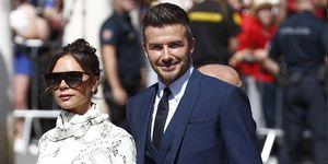 David Beckham boda Sergio Ramos Pilar Rubio