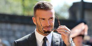 David Beckham corte pelo Harper