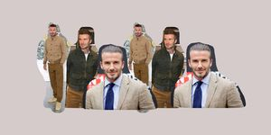 Shop in de stijl van David Beckham