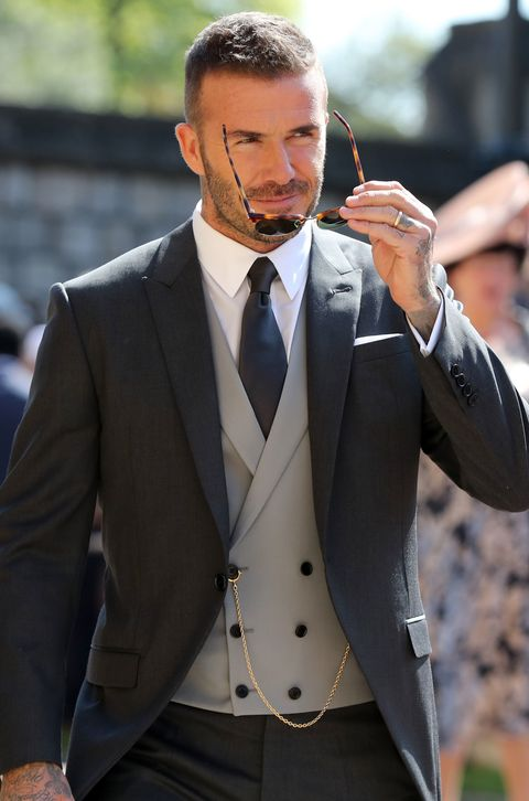 Why You Need David Beckham\'s Royal Wedding Look