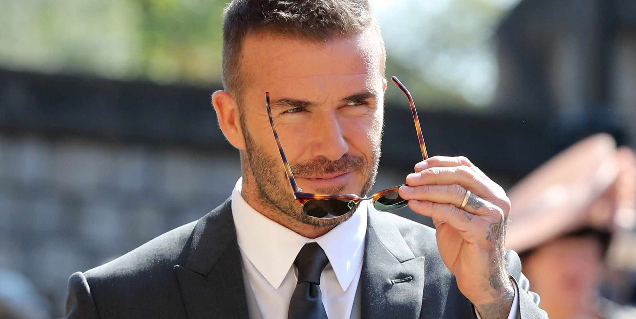Why You Need David Beckham S Royal Wedding Look