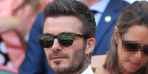 David Beckham Campeonato Wimbledon