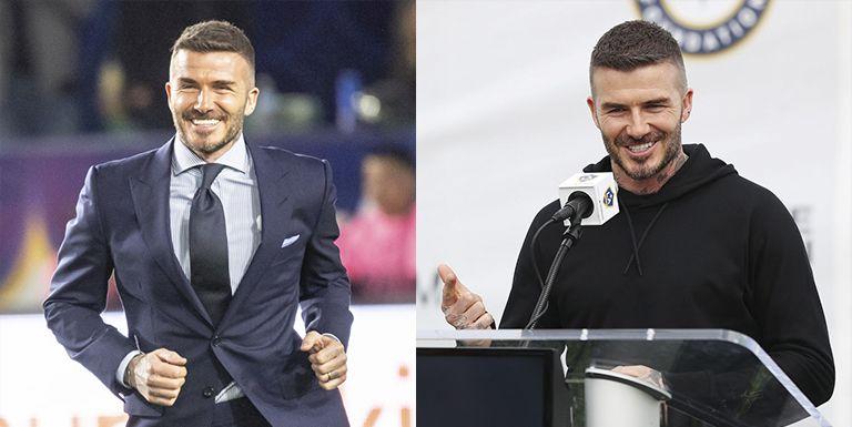 David Beckham traje chandal