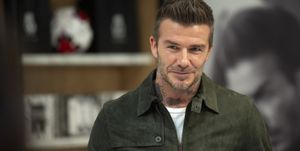 David Beckham Celebrates House 99 At Galeries Lafayette Champs Elysees In Paris