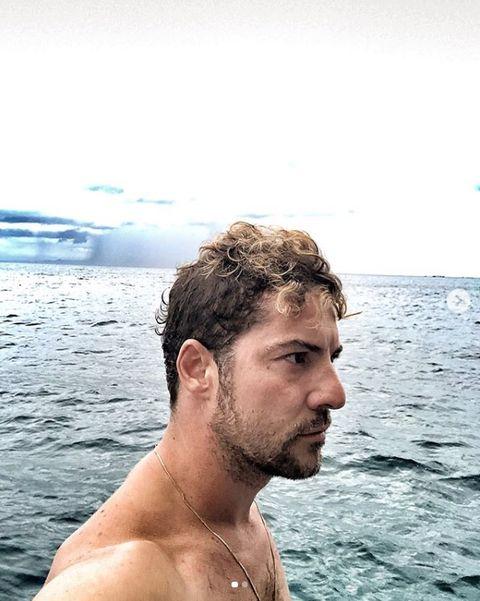 Hair, Barechested, Sea, Summer, Vacation, Water, Human, Fun, Neck, Ocean,