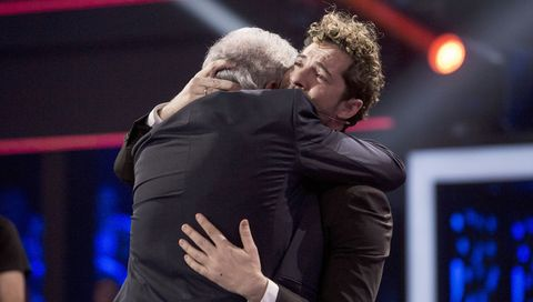 Las lágrimas de David Bisbal en 'La Voz Senior'
