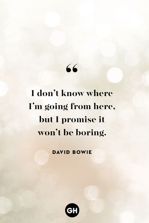 new years eve quotes — david bowie