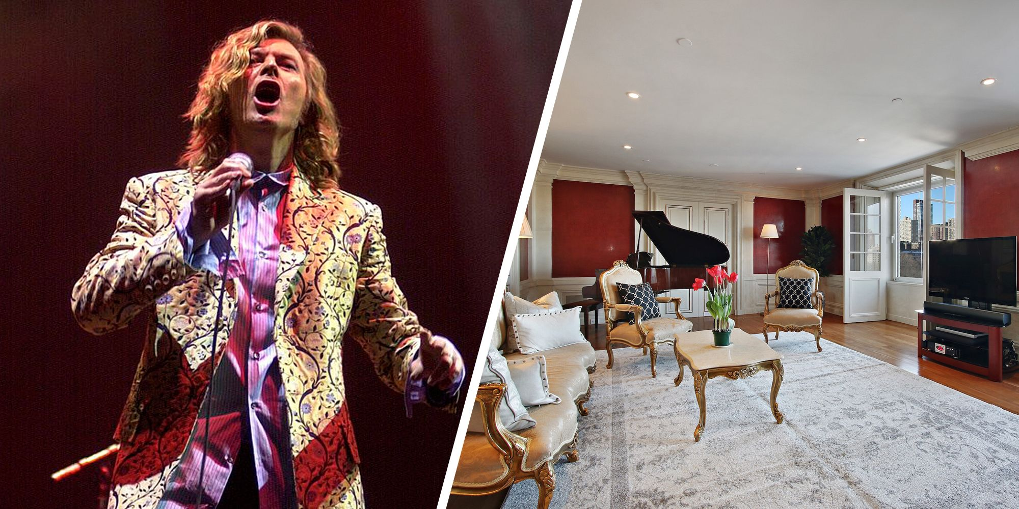 David Bowie's Former Home In The Essex House Can Be Yours For $6.5 Million