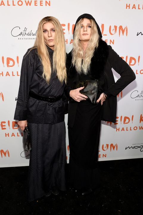 heidi klum's 20th annual halloween party presented by amazon prime video and svedka vodka at cathédrale new york   arrivals