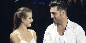 David Bustamante y Yana Olina juntos en 'Bailando con las estrellas'