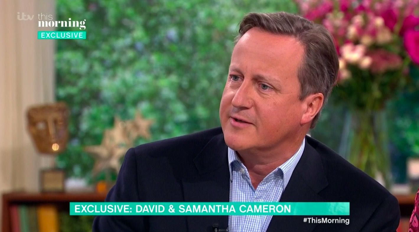 This Morning in blunder as David Cameron says rude word live on air