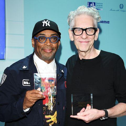 Spike Lee y David Cronenberg en el Festival de Venecia