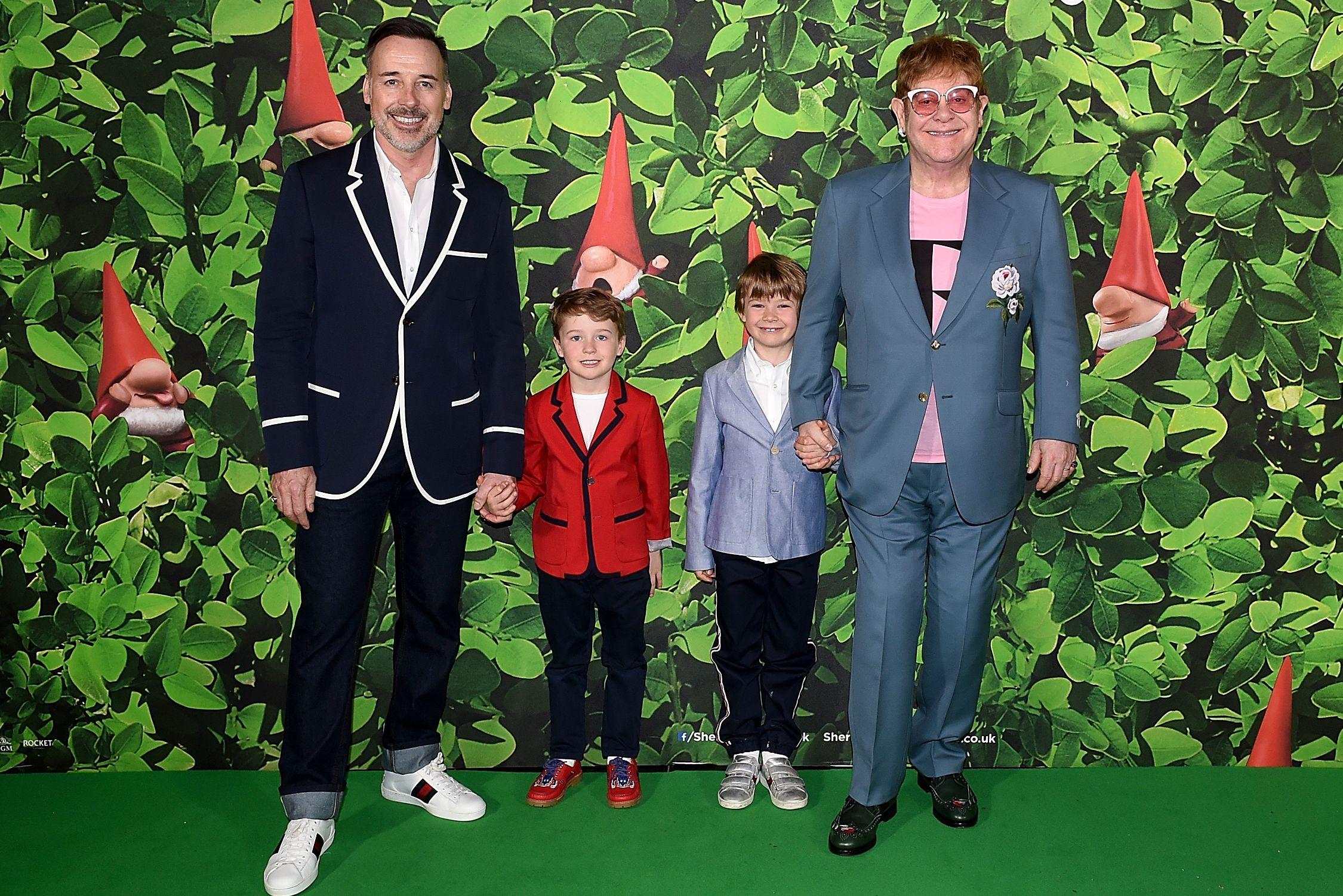 'Sherlock Gnomes' London Family Gala hosted by Sir Elton John and David Furnish