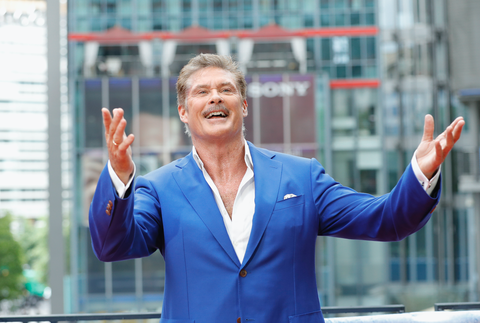 """David Hasselhoff reveals true story of """"Fact or Fiction"""" book Up Against the Wall, and teases sequel"""