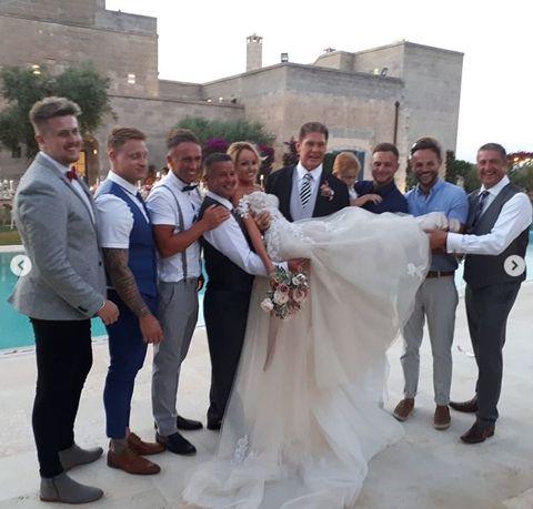 David Hasselhoff y Hayley Robertsfotos de su boda