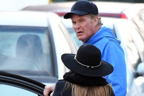 El actorDavid Hasselhoff y su esposa despiden el año desde Marbella.