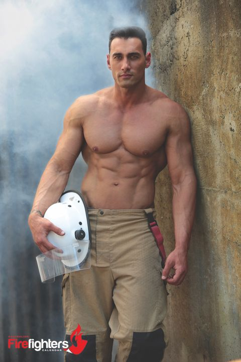 Courtesy of the 2018 Australian Firefighters calendar