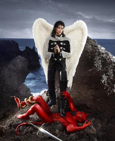 Michael Jackson,David LaChapelle, arcangel Michael
