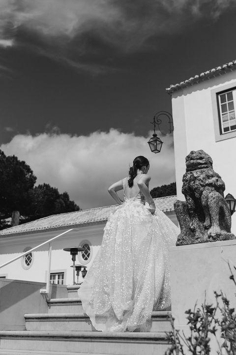 mariée en robe