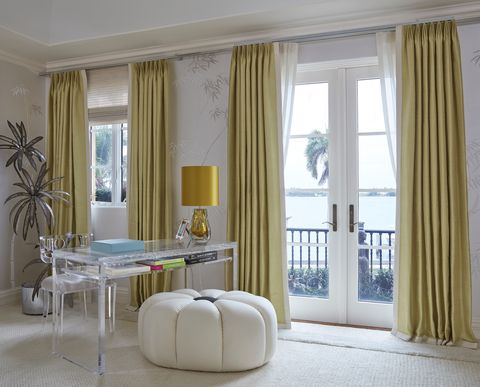 Gorgeous window treatments from kips bay show house - Window treatment ideas pictures ...